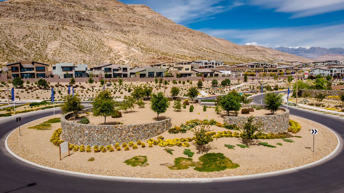 Las Vegas master-planned community developers reported an increase of sales over 2019. Summerli ...