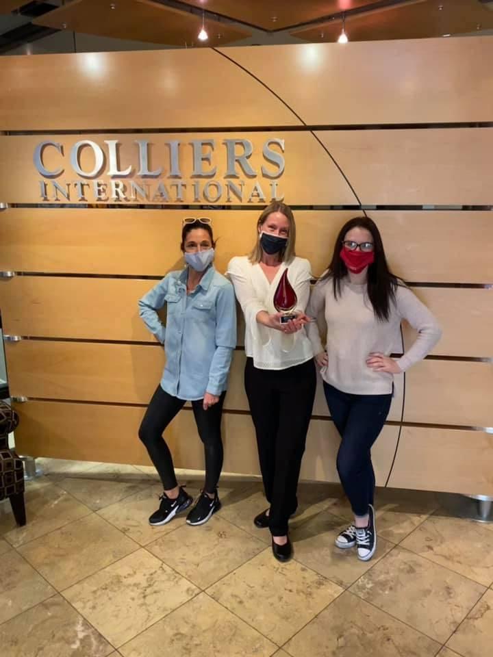Natalie Allred, Jennifer Mount and Samantha Rupert. (IREM )