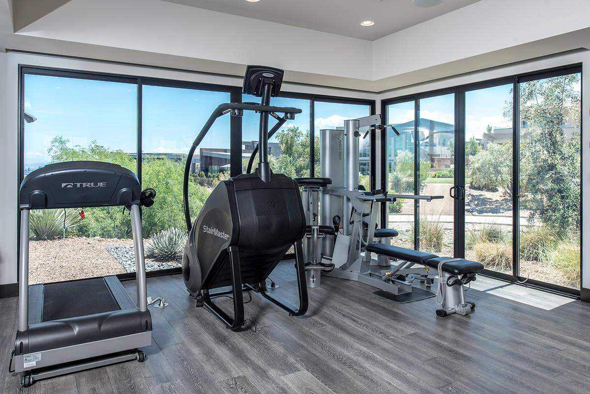 The gym. (Simply Vegas)