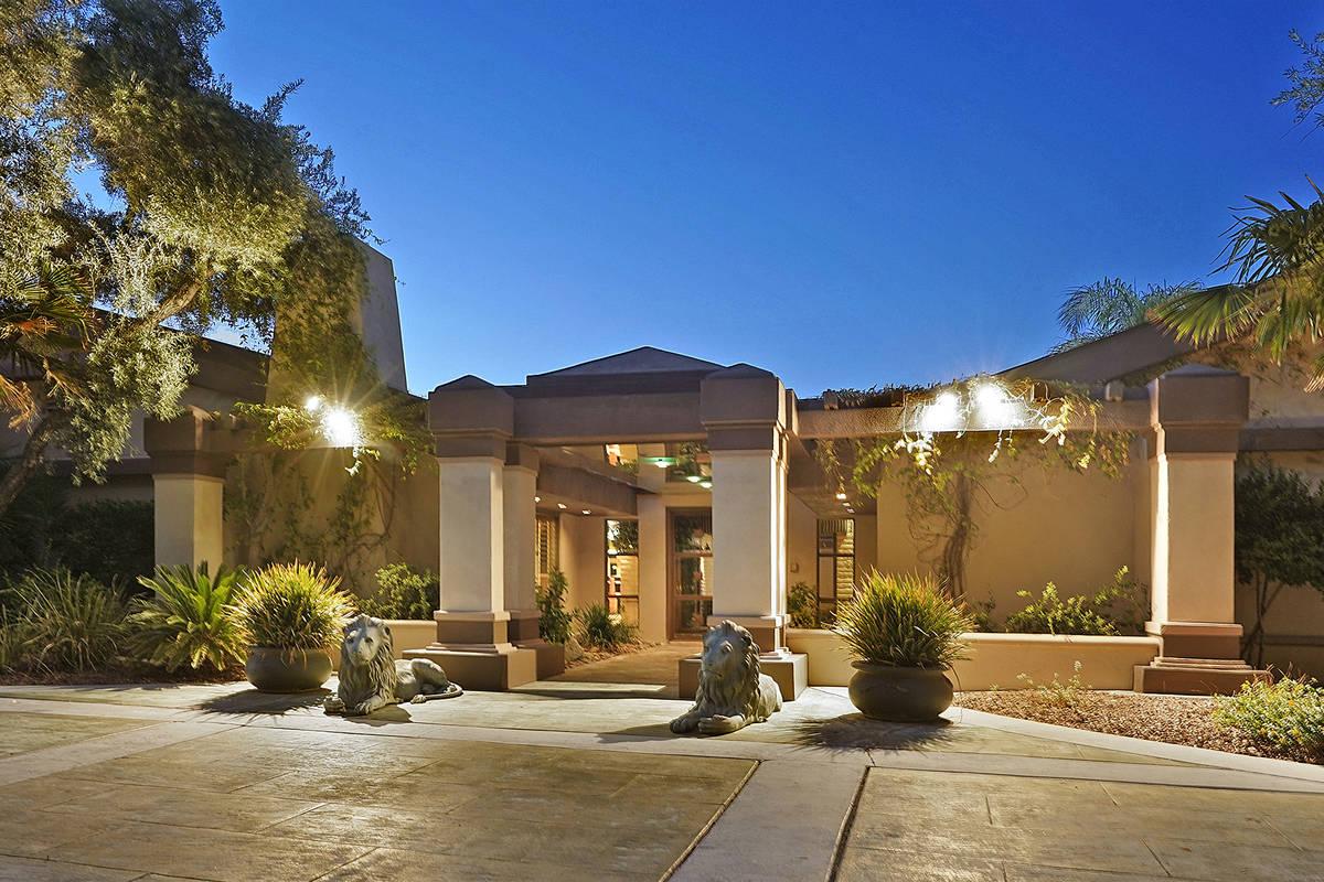 The home sits on a 1-acre lot. (Huntington & Ellis)