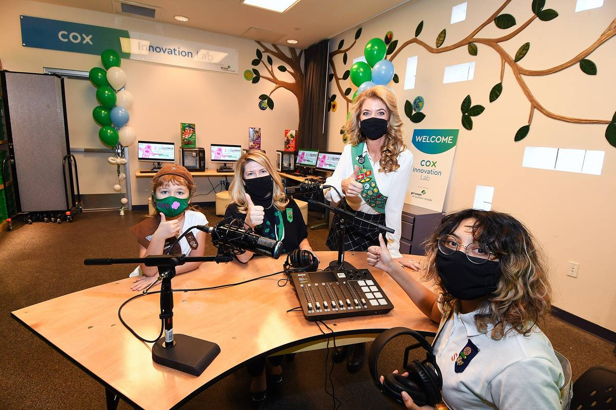 Girl Scouts in Southern Nevada have a new resource for digital learning and reaching out to the ...