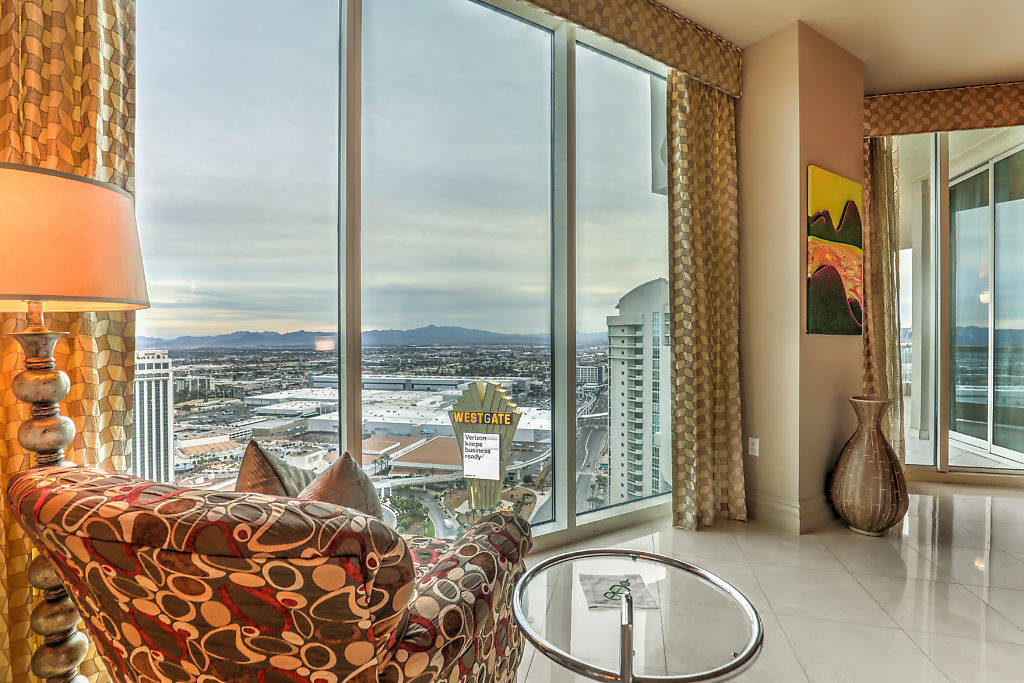 The Turnberry Place unit is designed for high-end living, with over 6,421 square feet of custom ...