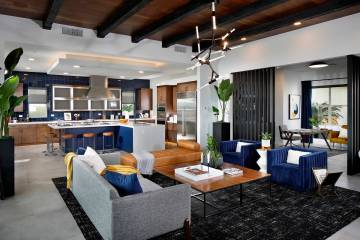 Pardee Homes won for the 2020 Silver Nugget Awards' Best Interior Merchandising for its Sanda ...