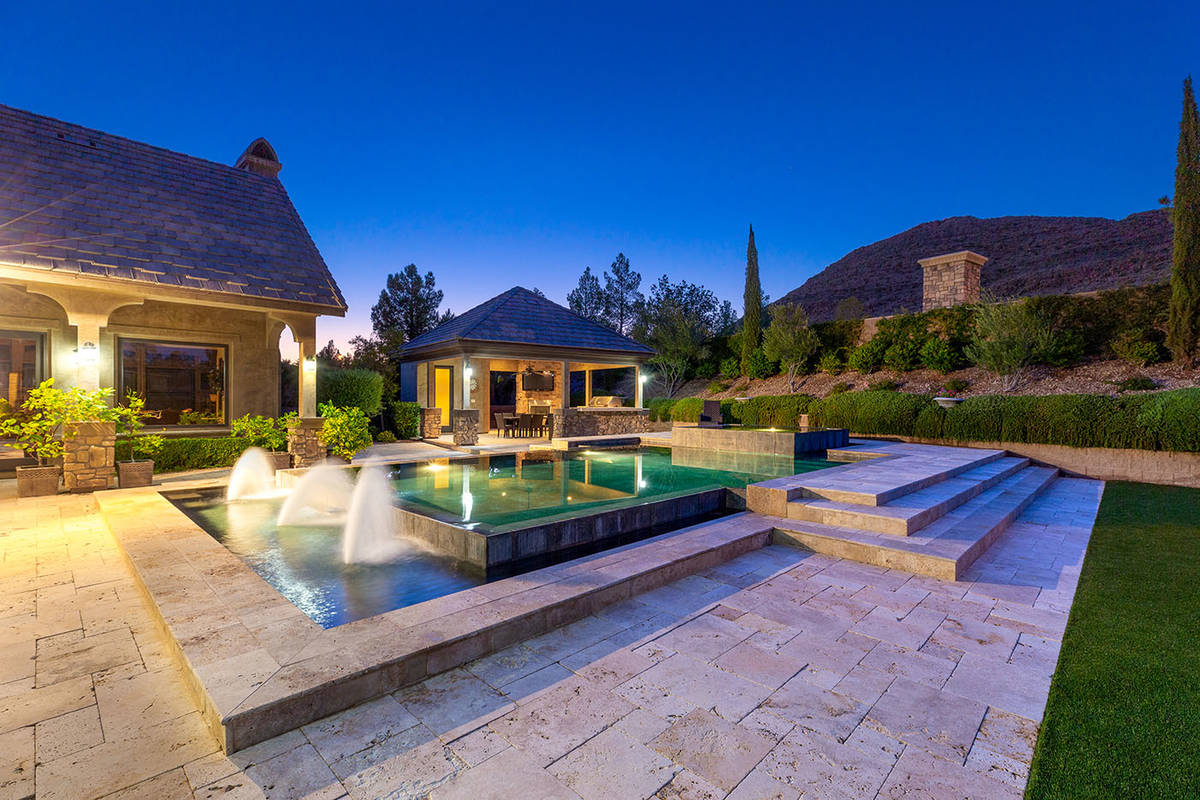 The pool area. (Ivan Sher Group)