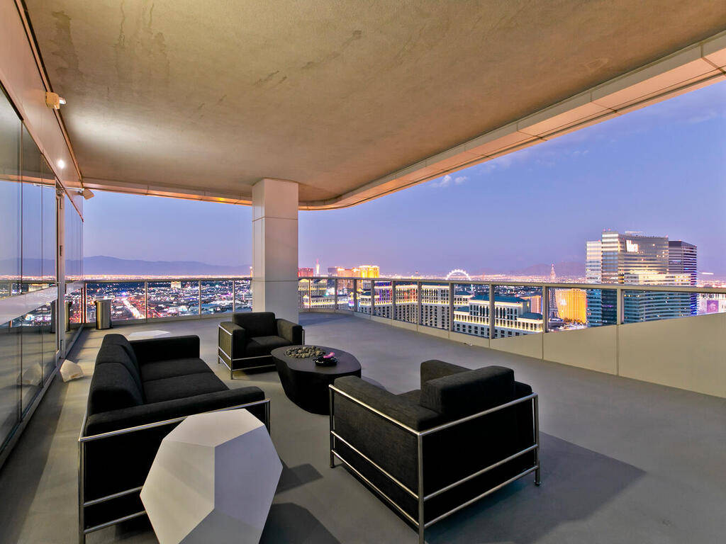 One of four balconies. (Elite Realty)