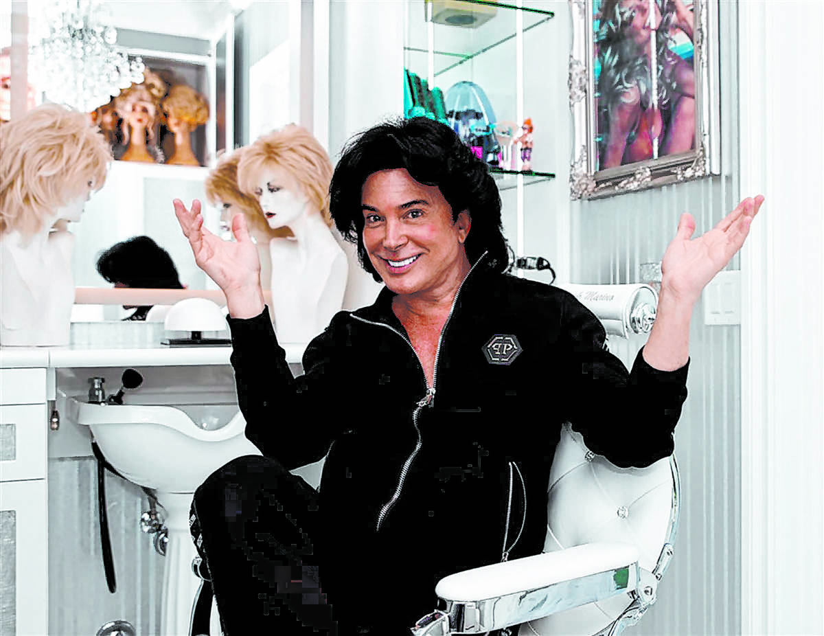 Years ago, Las Vegas headliner and female impersonator Frank Marino designed a fully equipped h ...