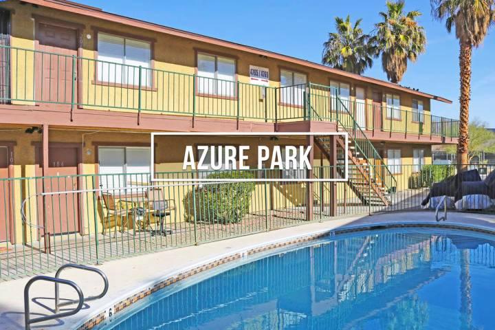 The Azure Park Apartments sold for $2,854,000 ($89,188/unit). (Northcap Commercial)