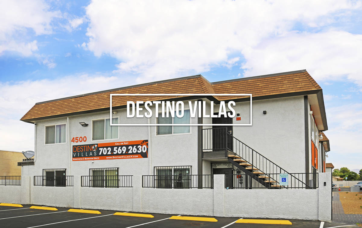 Destino Villas Apartments sold for $2,976,000 ($93,000/unit). (Northcap Commercial)