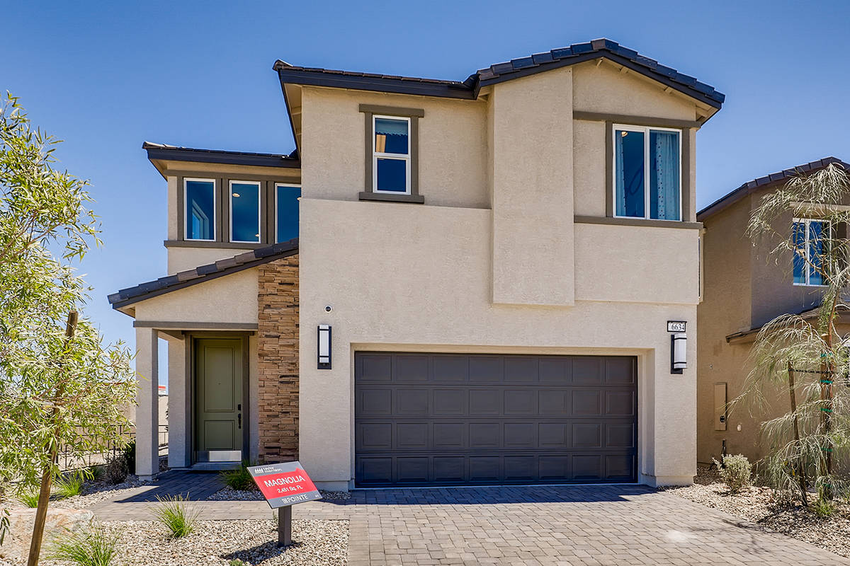 After one year of building homes in Las Vegas, Arizona-based Taylor Morrison has plans to expan ...
