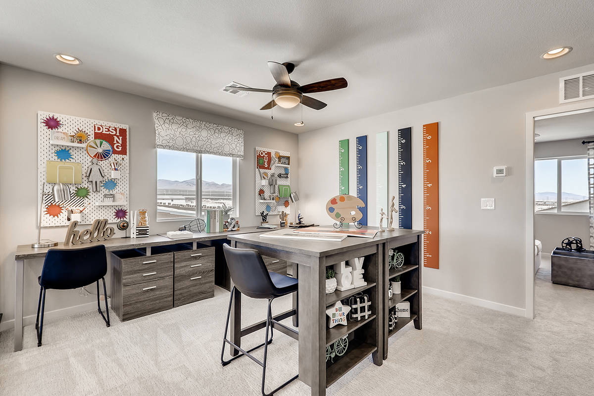 Taylor Morrison launched its first community in July at Palmer Ranch in North Las Vegas at the ...