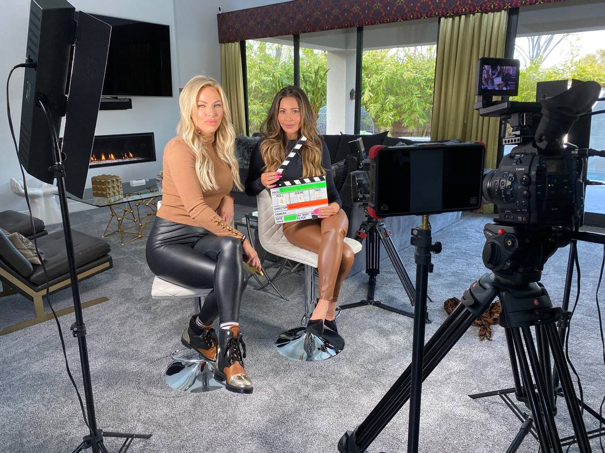 Las Vegas Realtors Alese Morrow and Michele Sullivan will star in an upcoming TV reality show, ...