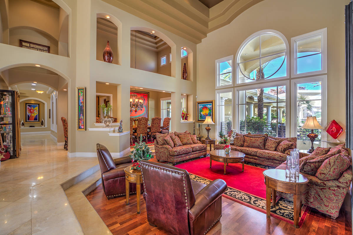 The living room. (Mark Wiley Group)