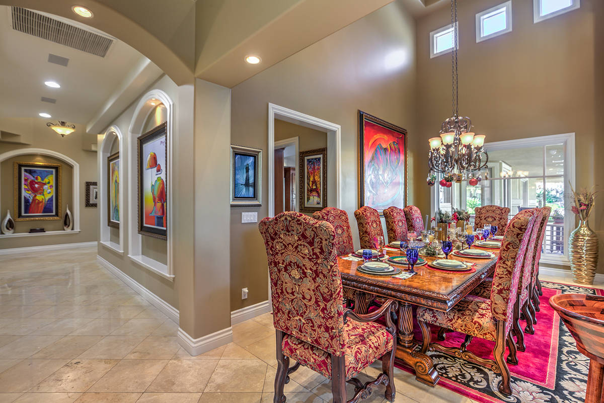 The formal dining room. (Mark Wiley Group)