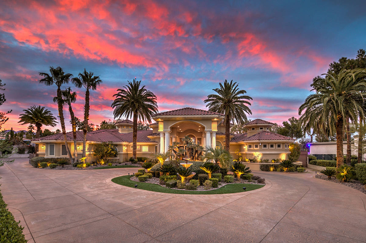This Ten Oaks home lists for $5.5 million and can be bought using cryptocurrency. (Mark Wiley G ...