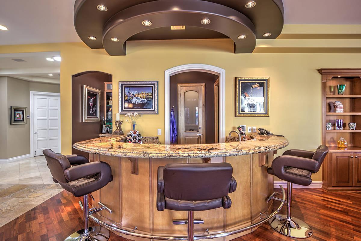 The bar. (Mark Wiley Group)