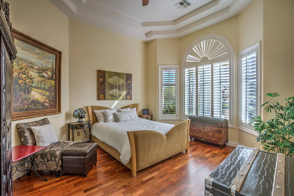 One of six bedrooms. (Mark Wiley Group)