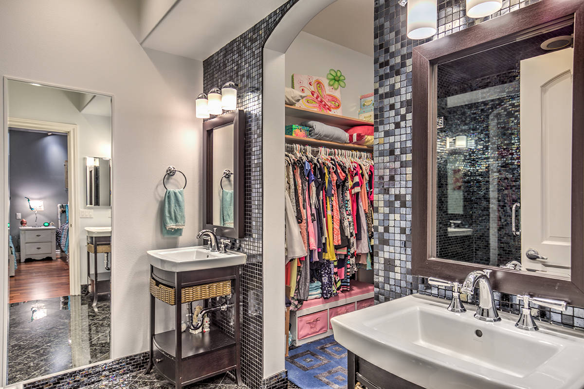 One of 10 bathrooms. (Mark Wiley Group)
