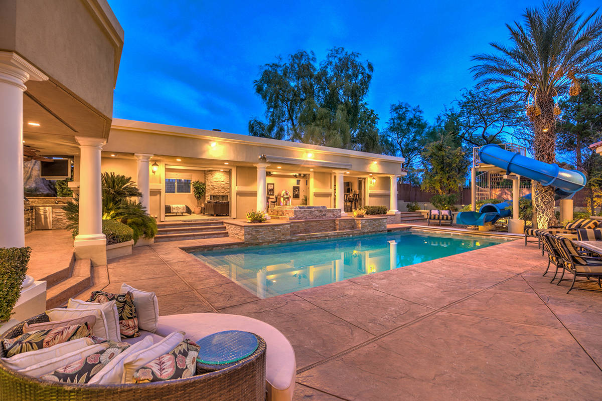 The pool. (Mark Wiley Group)