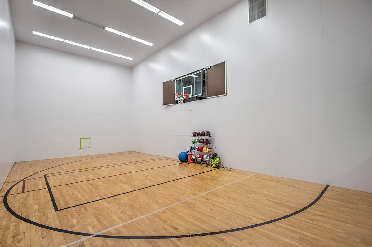 Mark Wiley Group The west valley estate has an indoor basketball court, which is part of a two ...