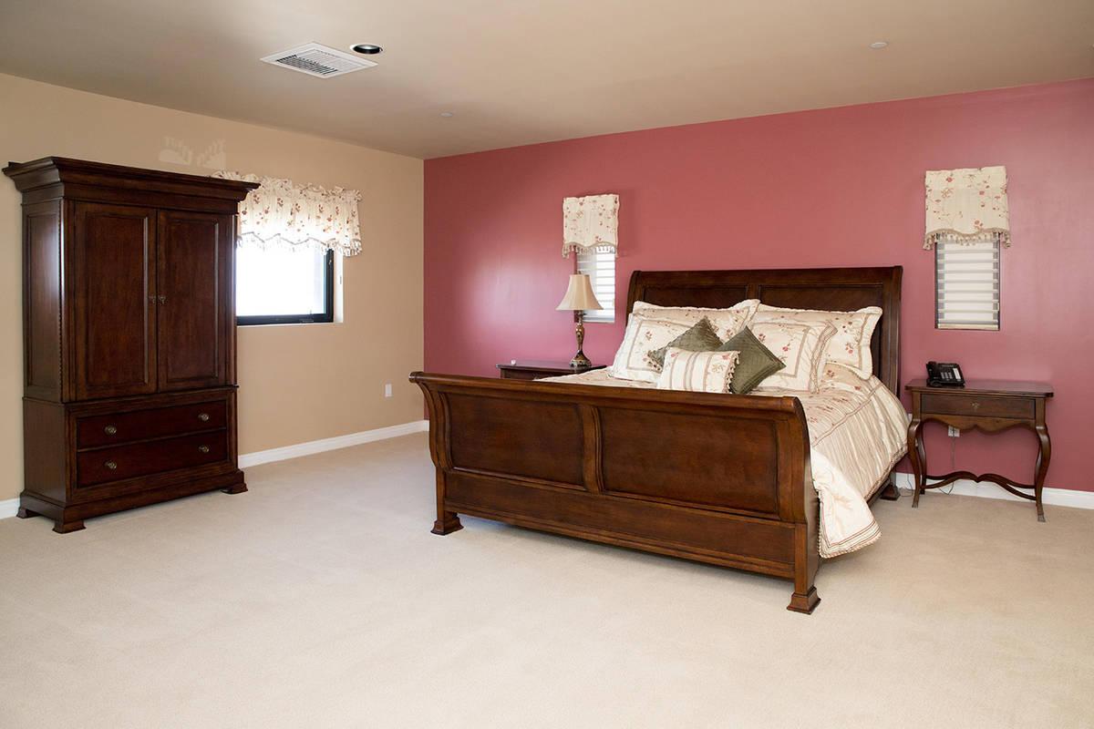 One of six bedrooms. (Tonya Harvey Real Estate Millions)
