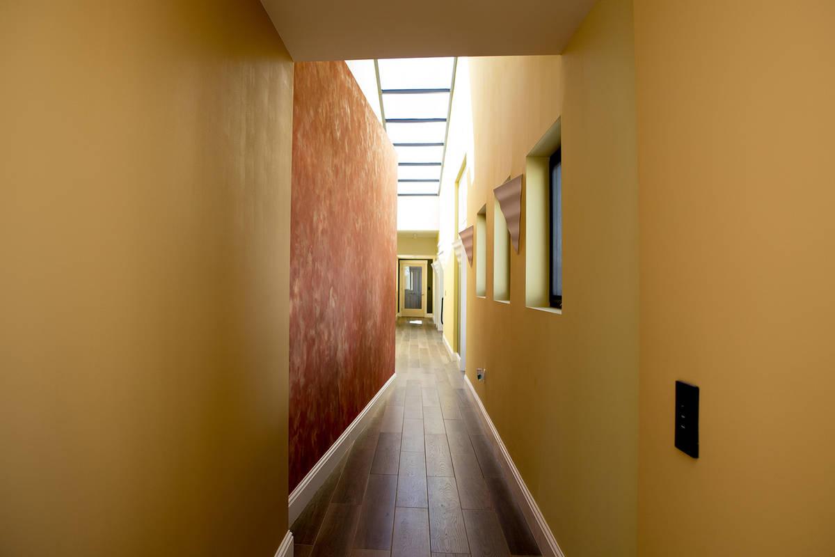 Hallways lead to secret rooms. (Tonya Harvey Real Estate Millions)