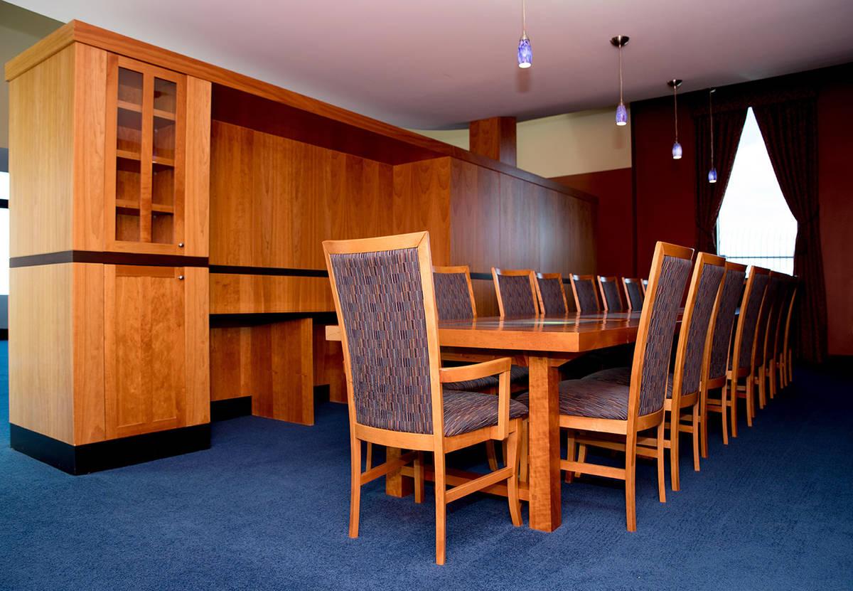 The dining table seats 18. (Tonya Harvey Real Estate Millions)