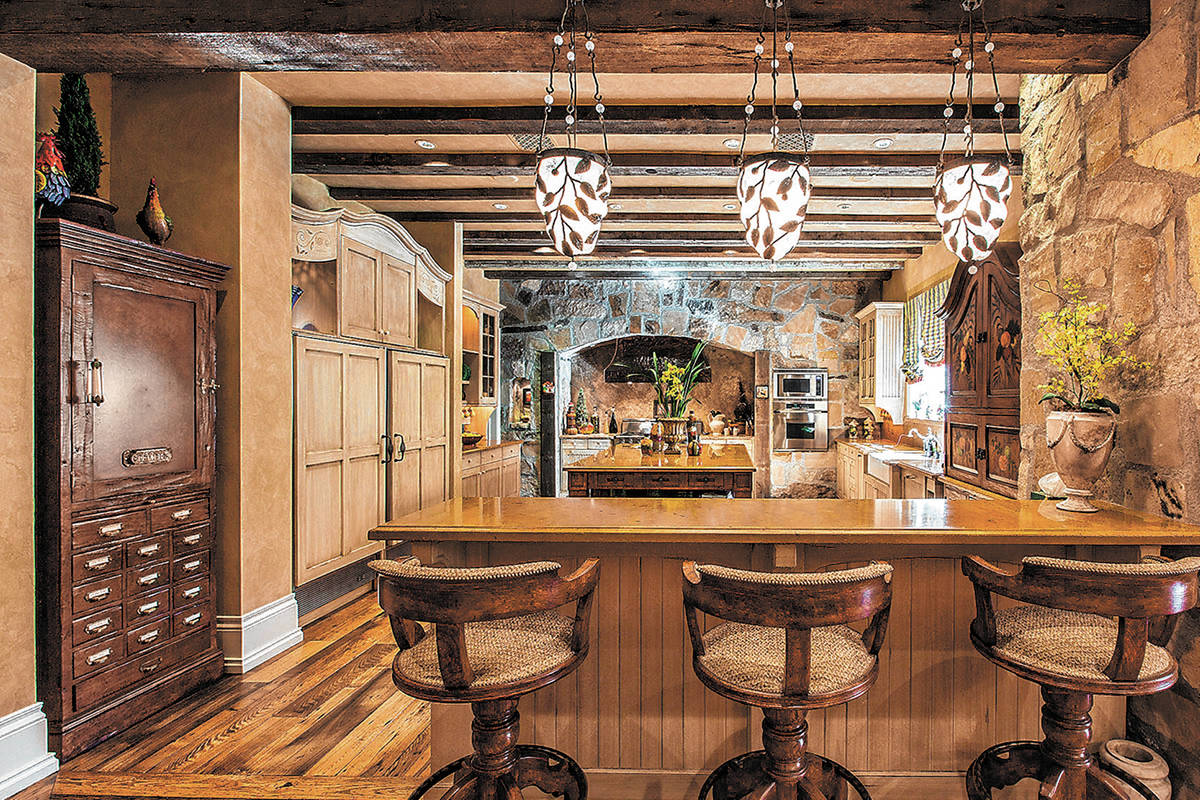 The kitchen. (The Ivan Sher Group)