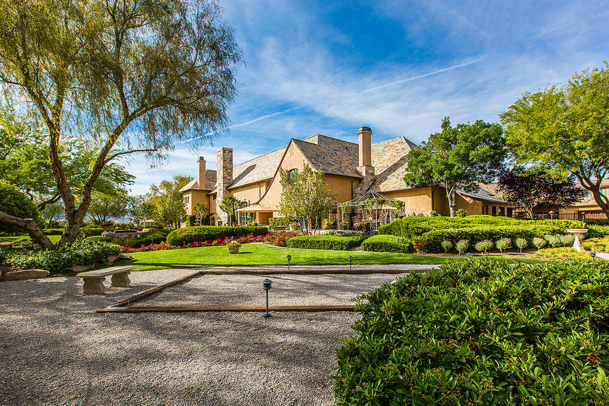 The Ivan Sher Group The 14,132-square-foot French-style two-story mansion built by Merlin Cust ...