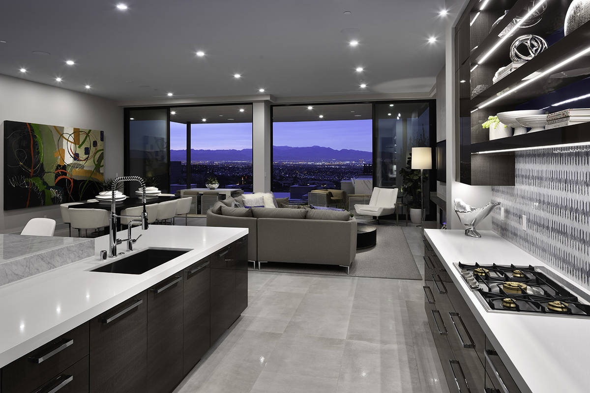 The kitchen. (Christopher Homes)