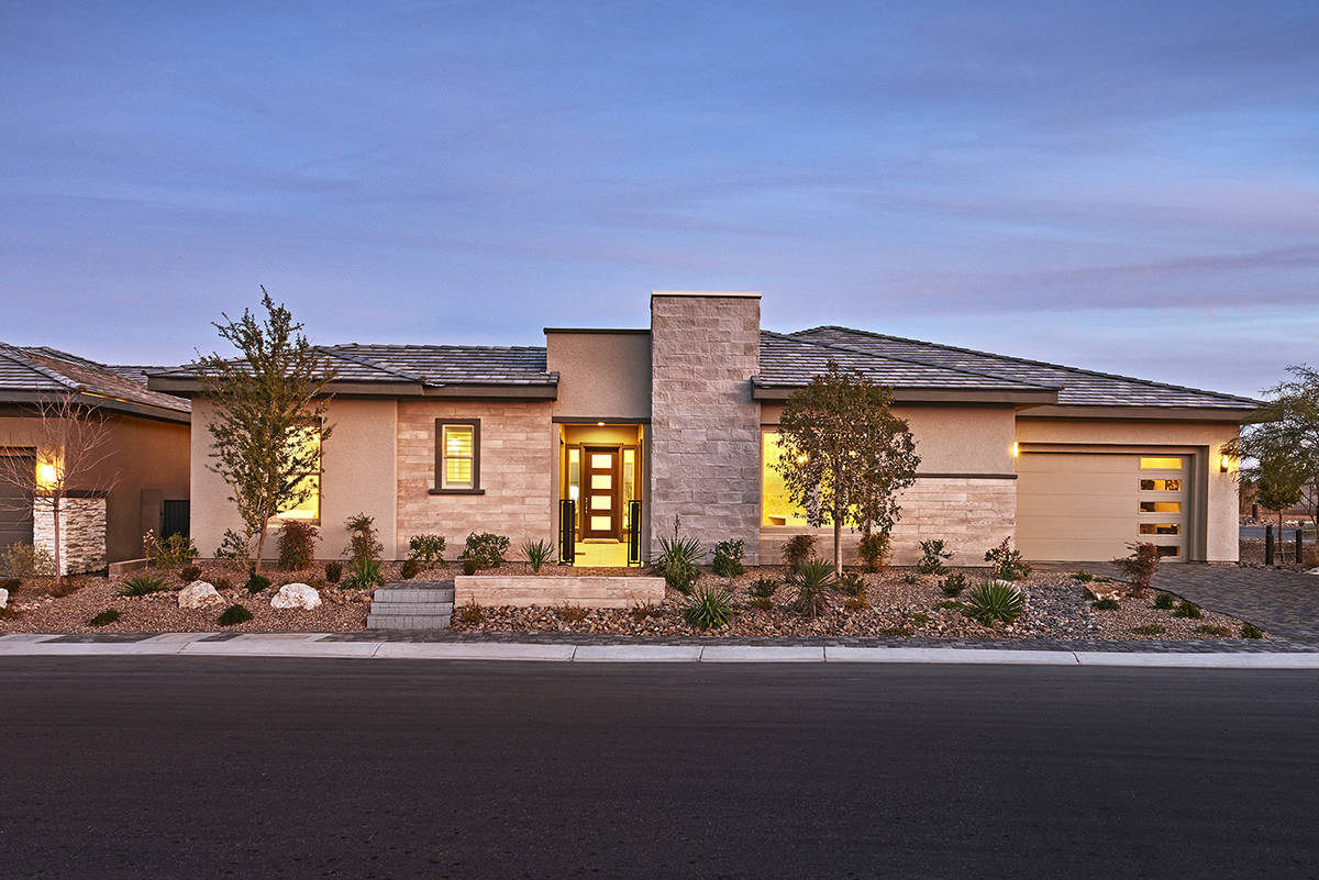 Steve Corbett, vice president of sales for Richmond American Homes, said they've sold through ...