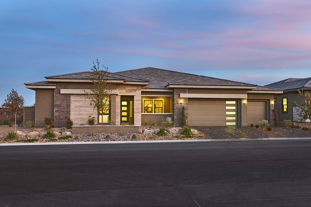 Richmond American Homes' Galway Grove in the southwest valley. (Richmond American Homes)