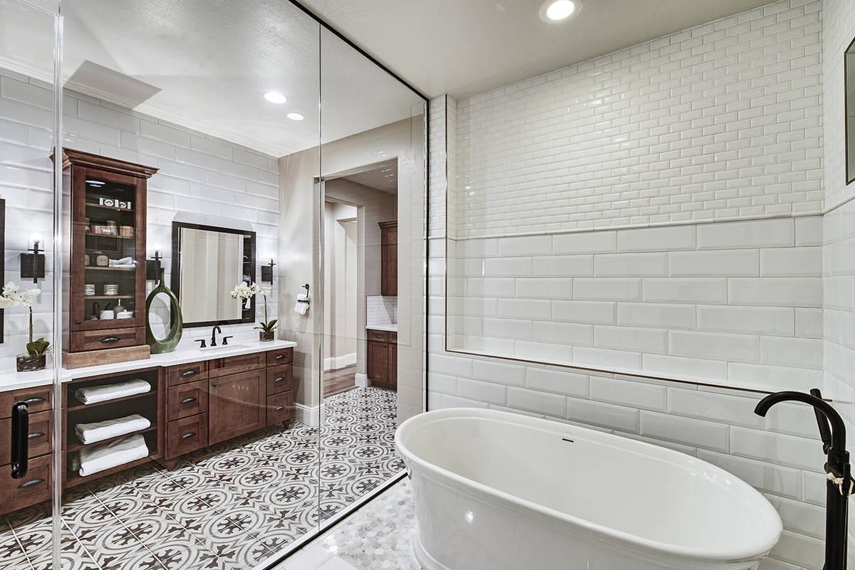 The master bath. (Richmond American Homes)