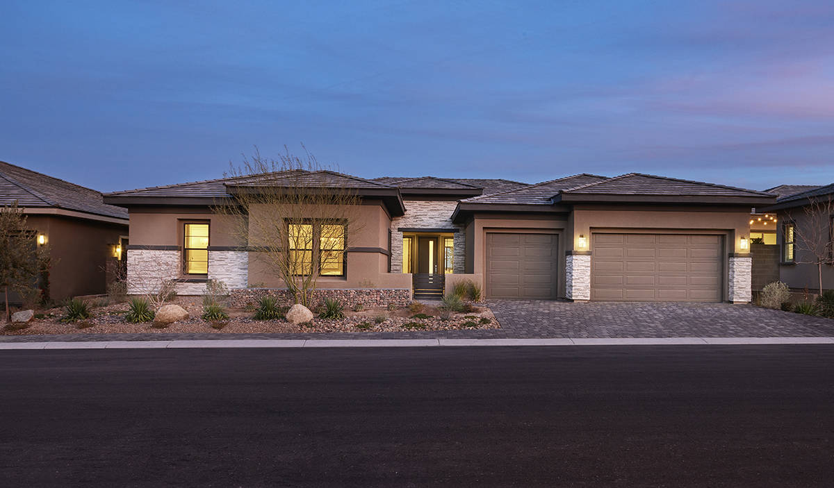 Richmond American Homes features Galway Grove in the southwest valley. (Richmond American Homes)