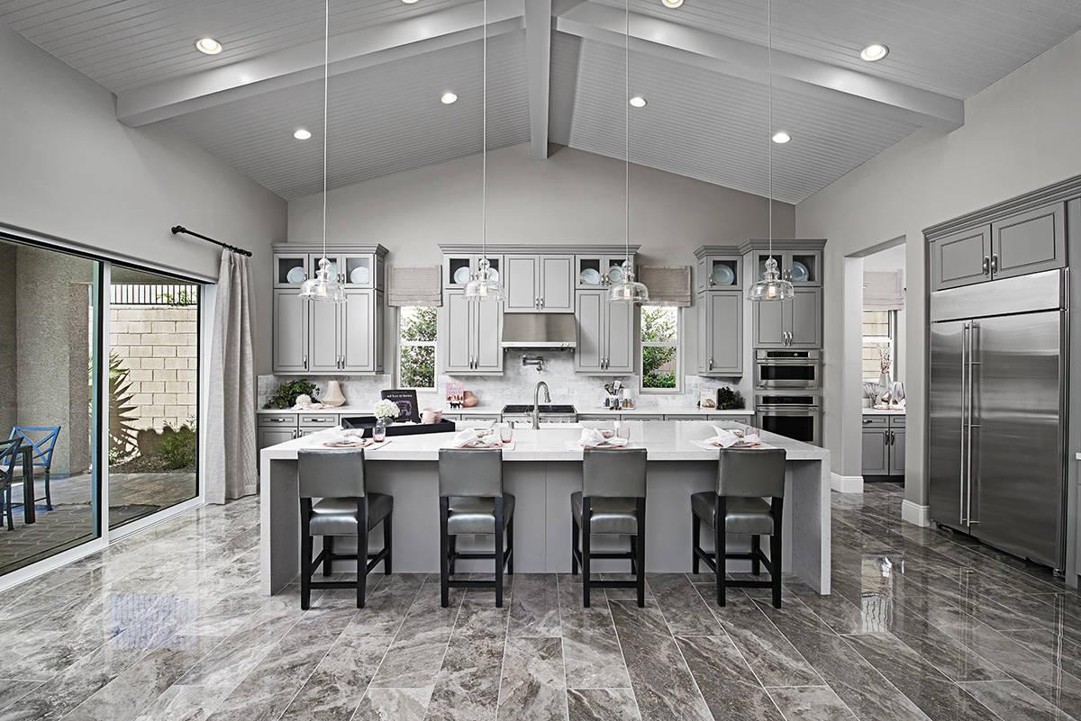 The kitchen. (Richmond American Homes)
