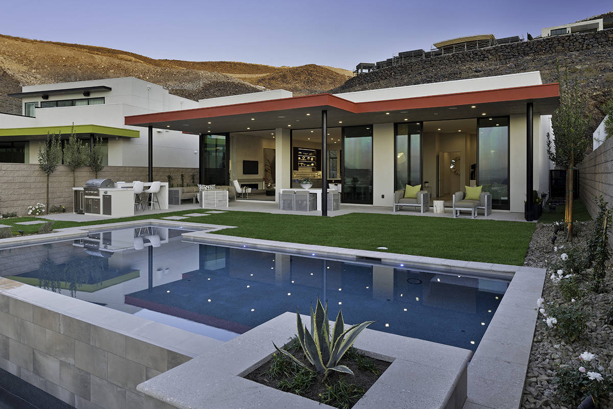 Christopher Homes Erika Geiser, vice president of sales and marketing for luxury builder Christ ...
