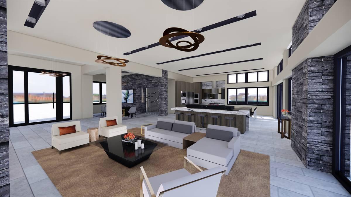 Luxurious Real Estate Luxury Realtor Bob Barnhart has a listing for a $6.1-million spec home un ...