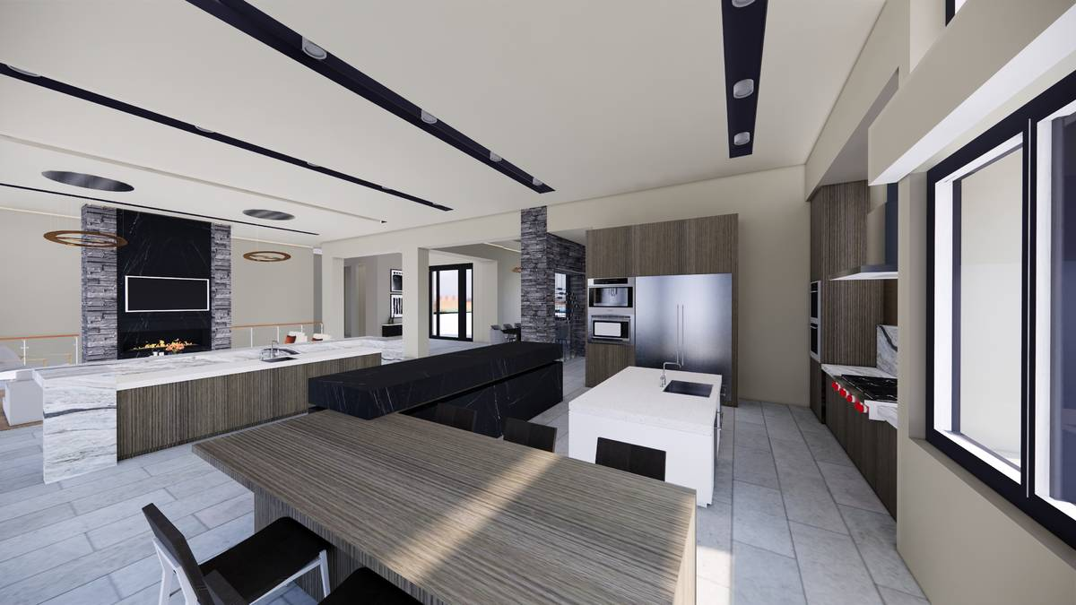 This spec home in The Ridges is listed for $6.1 million spec home under construction in The Rid ...