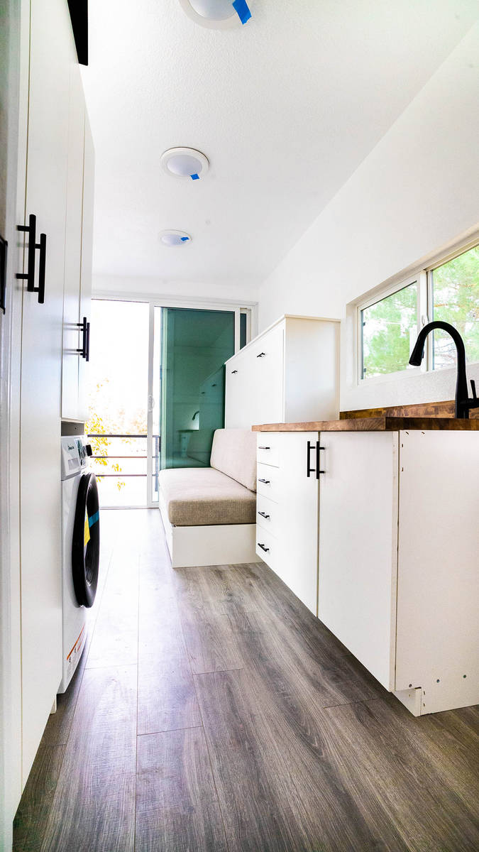 Alternative Living Spaces Sally Lushin purchased a 20-foot container tiny home last November fr ...