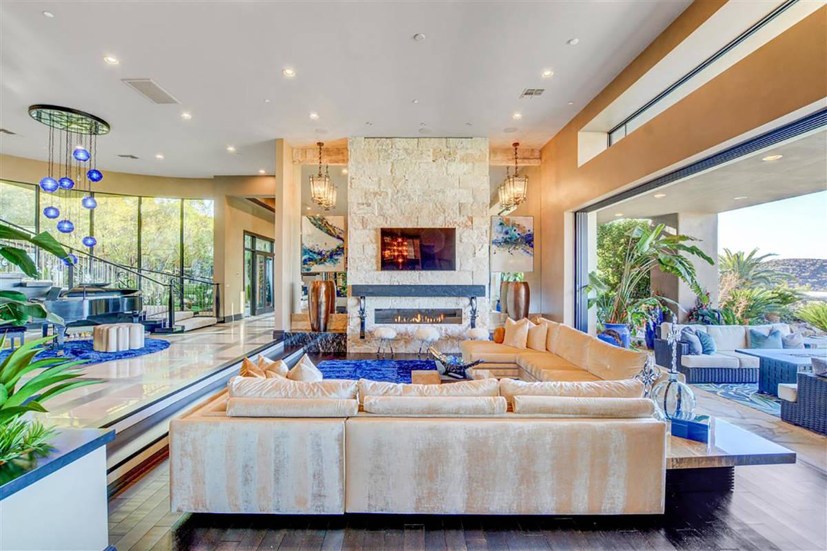 The home features indoor/outdoor living. (Keller Williams)