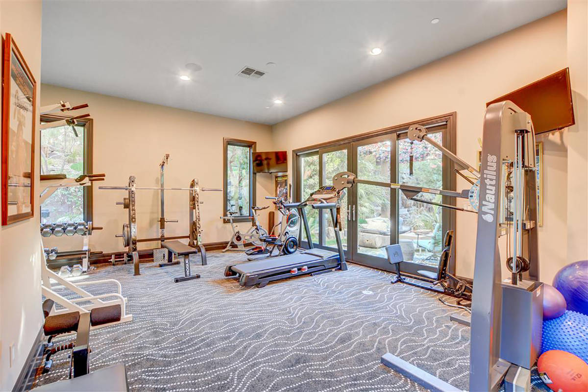 The gym. (Keller Williams)