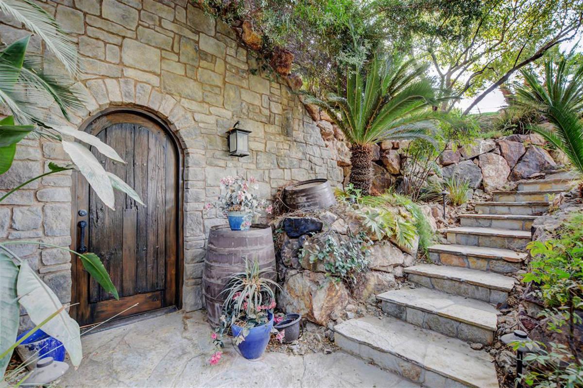 Entrance to wine cellar. (Keller Williams)