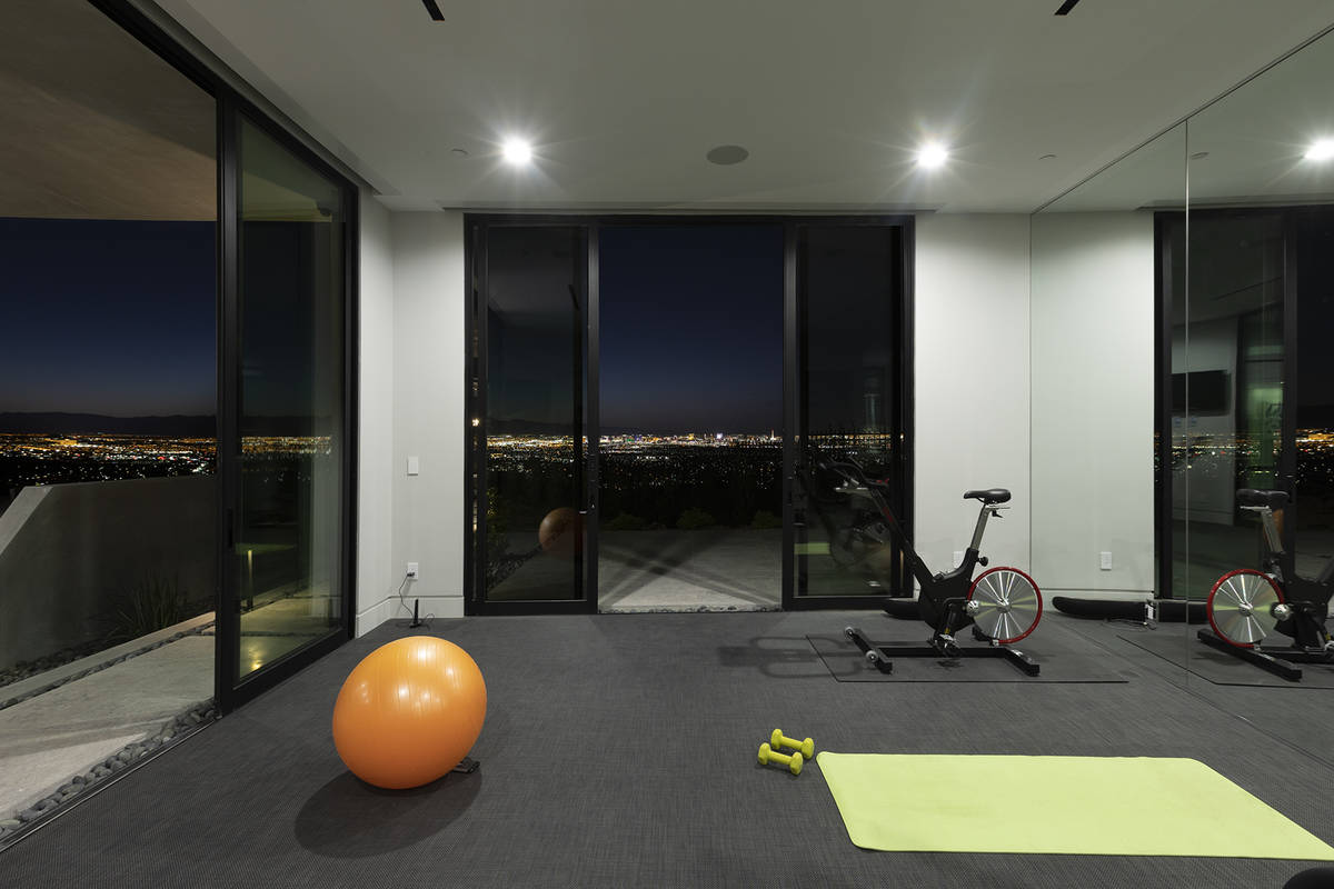 The fitness room. (Synergy Sotheby's International Realty)