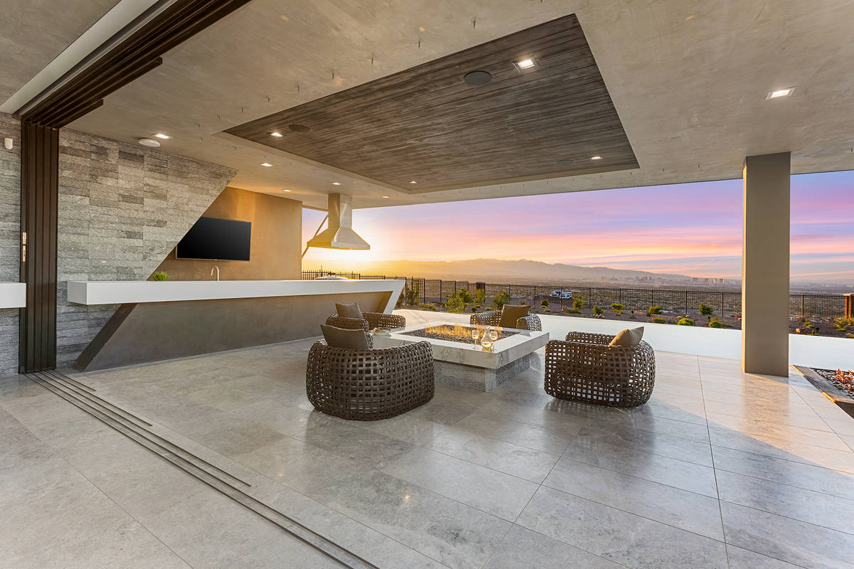 The patio. (Synergy Sotheby's International Realty)