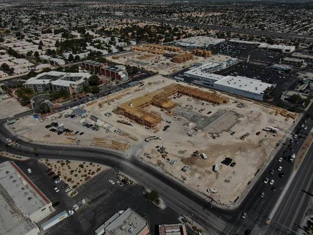 Nevada Hand's Decatur Commons, an 80-unit affordable apartment community, has portions of the ...