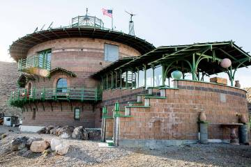 Hard Luck Mine Castle is near Death Valley. Tech entrepreneur Richard Socher purchased it for $ ...