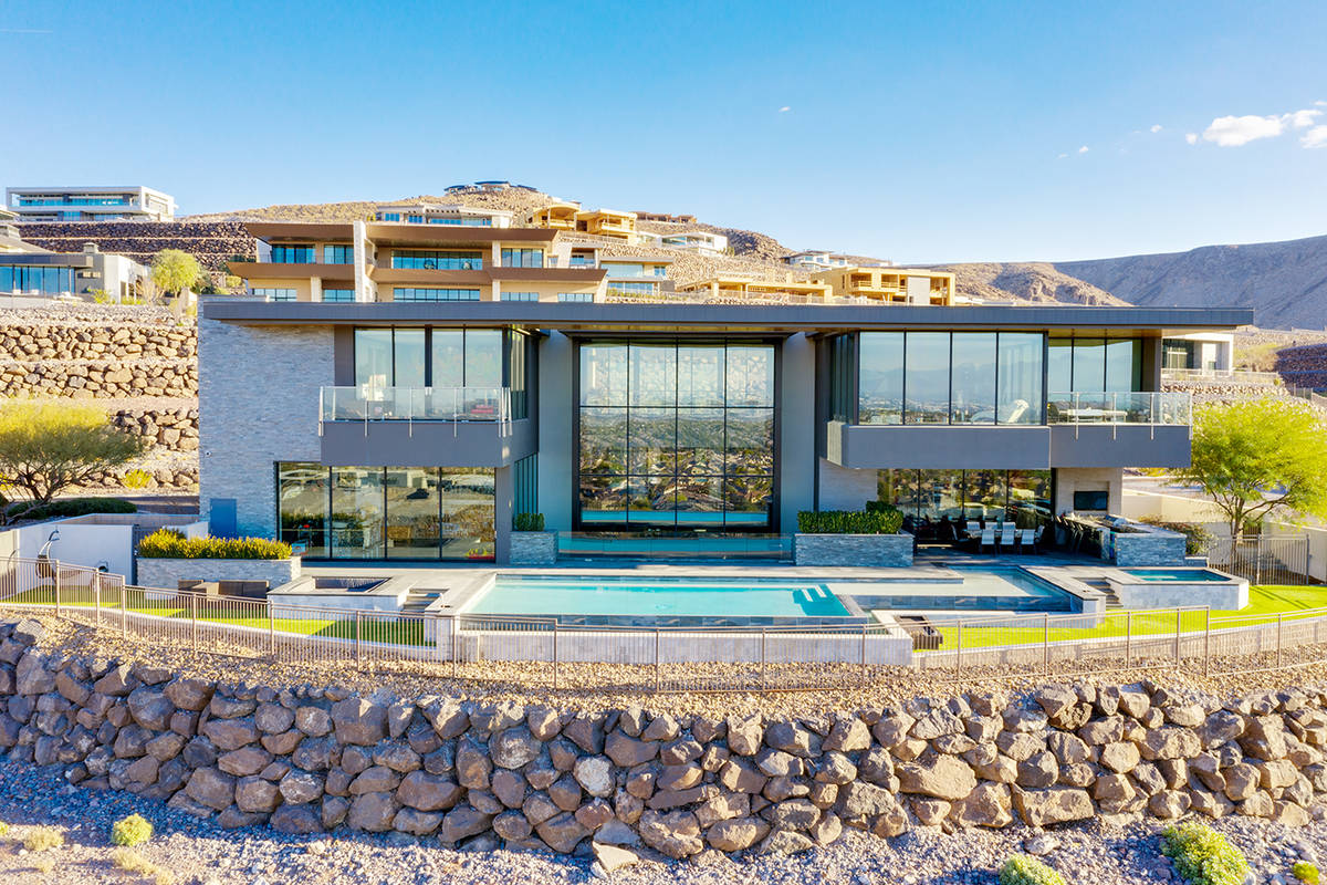 The Ascaya home that Gene Simmons of KISS bought has more than 11,000 square feet of living spa ...