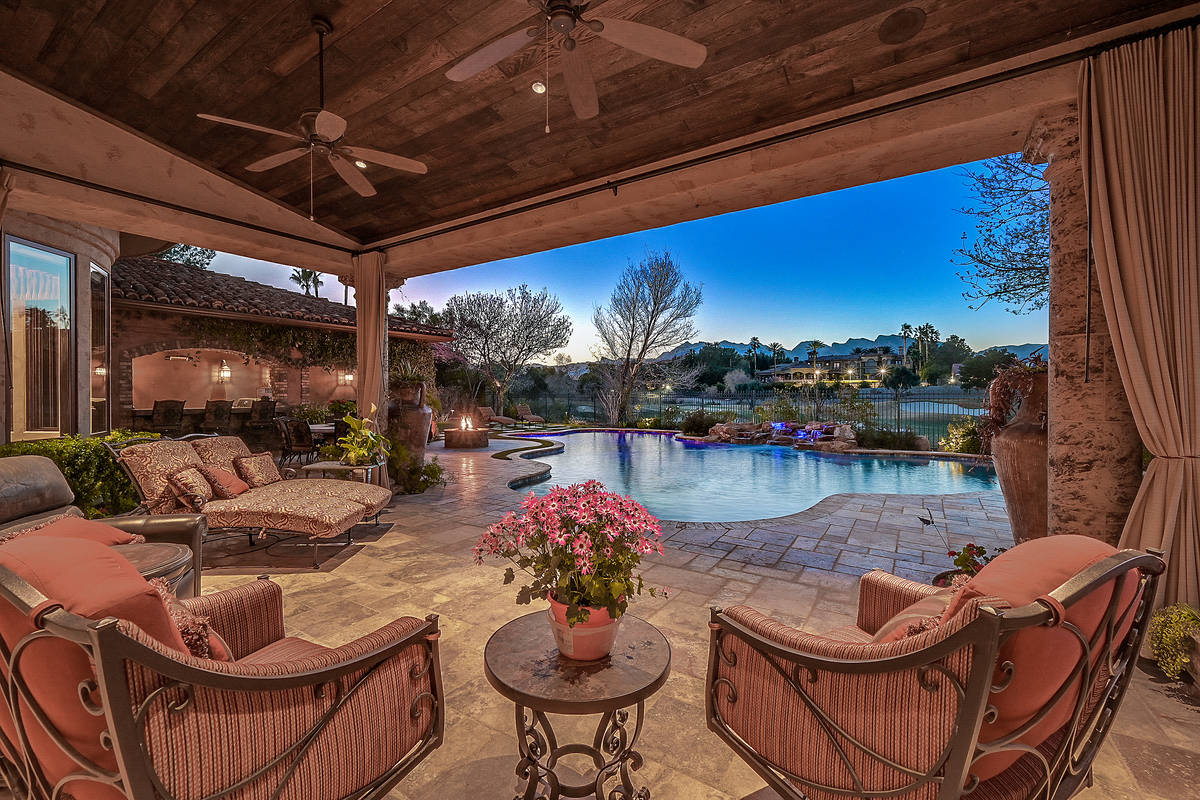 The Tournament Hills home has five bedrooms, seven baths and a four-car garage. (Darin Marques ...
