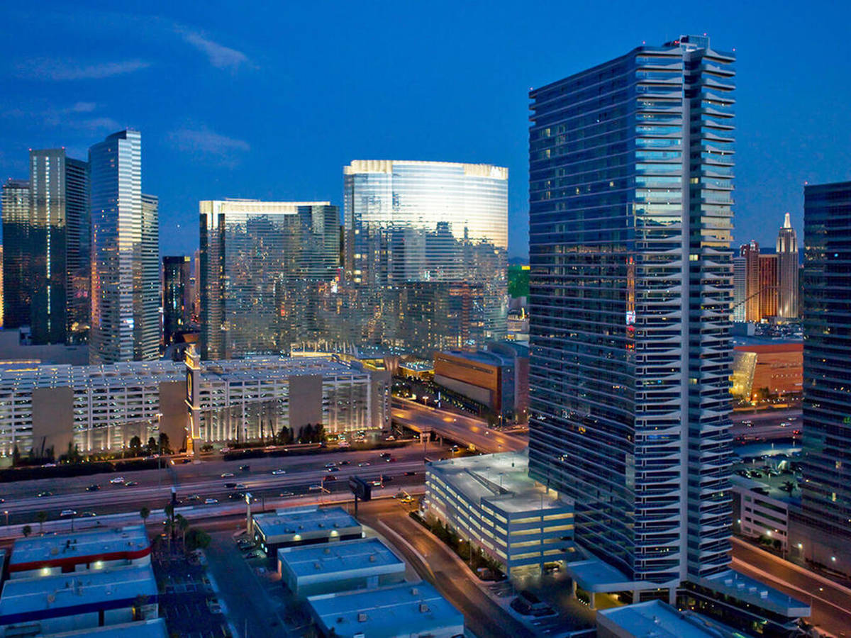 The Martin penthouse set a record for Las Vegas high-rise condo sales when it sold for $16.25 m ...