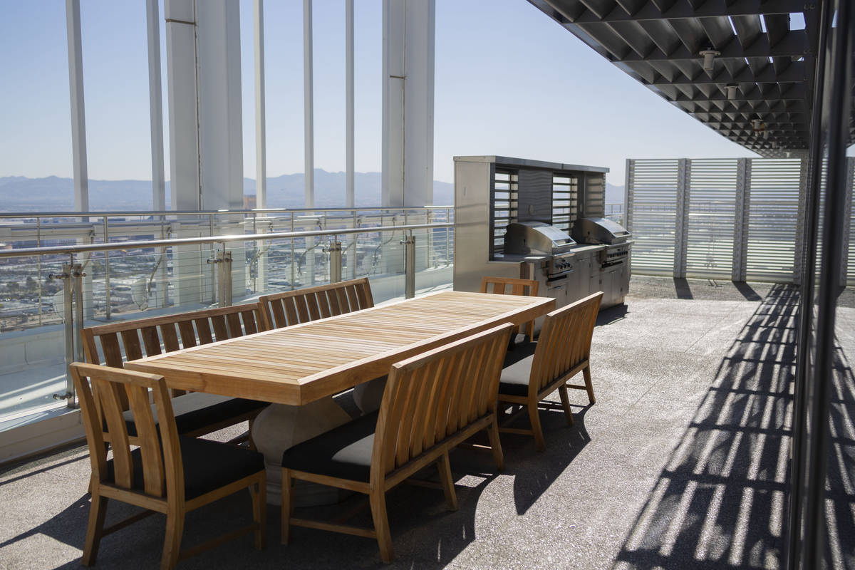 The Palms Place penthouse in Las Vegas, owned by Phil Maloof, sold for $12.5 million in 2019. ( ...