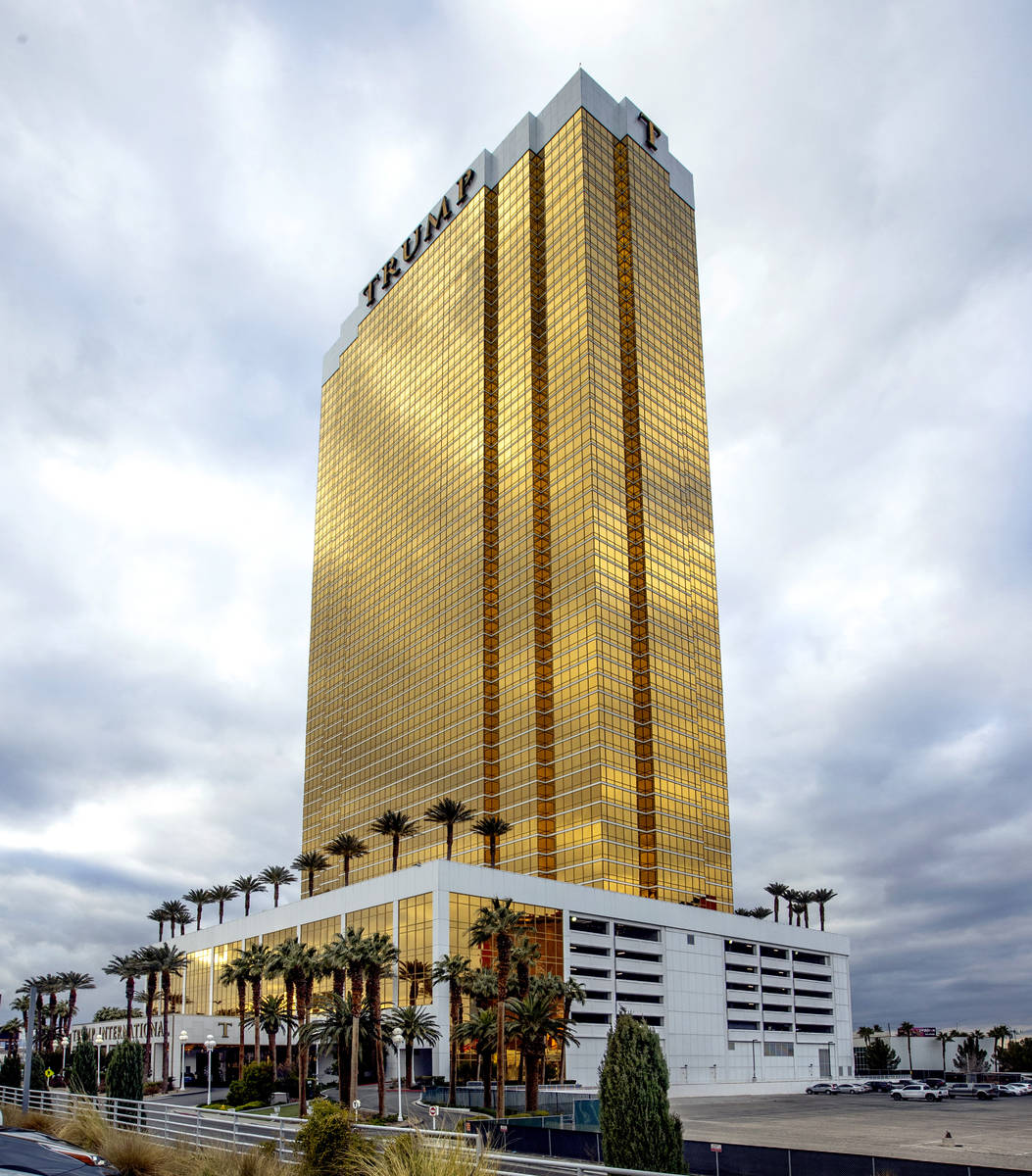 Trump International Hotel Las Vegas has reported a spike in sales but a decrease in price. (Las ...